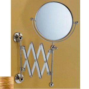 Зеркало косметическое Devon&Devon Trendy WFC820OT, латунь