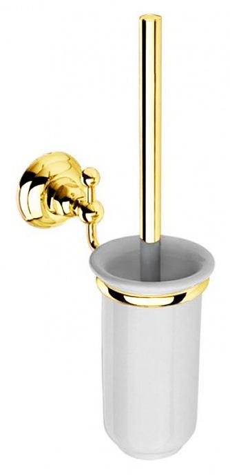 Ершик для туалета Nicolazzi Classica 1490GO, золото