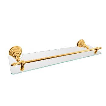 Полочка Nicolazzi Classic 1480GO, золото/стекло