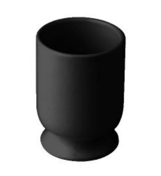 Стакан Nicolazzi Classic 6002 B, черный