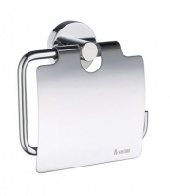 Держатель для туалетной бумаги Smedbo Home HK3414 с крышкой, хром