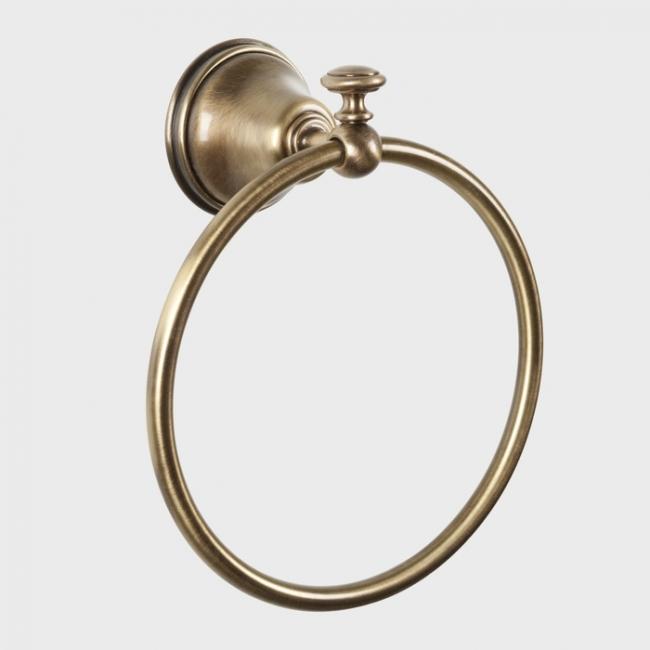 Полотенцедержатель кольцевой Tiffany World Harmony TWHA015br, бронза