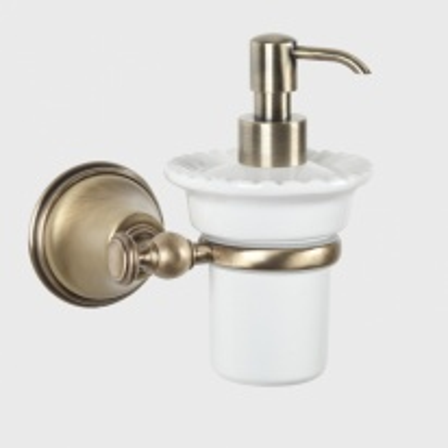 Дозатор жидкого мыла Tiffany World Harmony TWHA108br, бронза