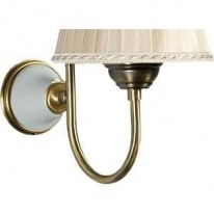 Настенная лампа светильника Tiffany World Harmony TWHA029bi/oro без абажура, белый/золото