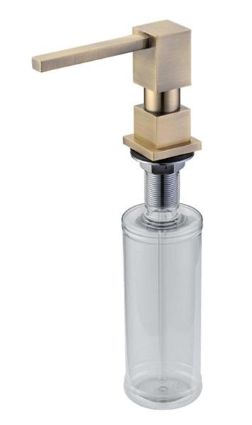 Дозатор жидкого мыла Zorg Inox ZR-22 BR, цвет бронза