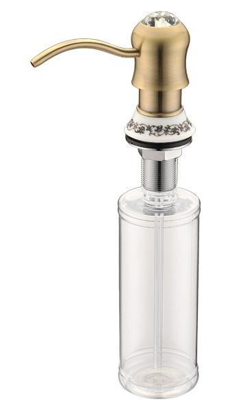 Дозатор жидкого мыла Zorg Inox ZR-26 BR, цвет бронза