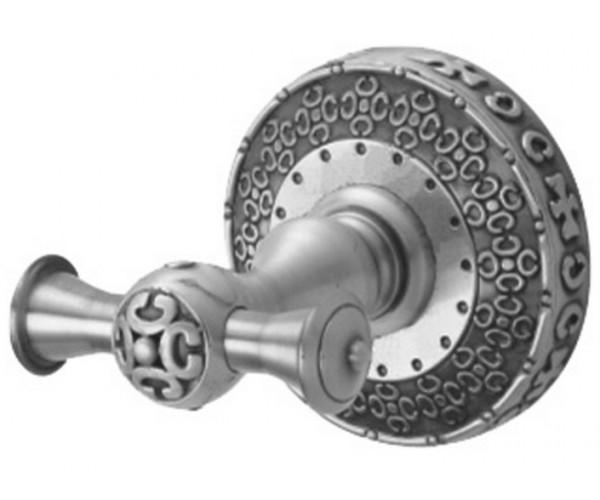 Крючок двойной Zorg Antic AZR 02 SL, цвет серебро