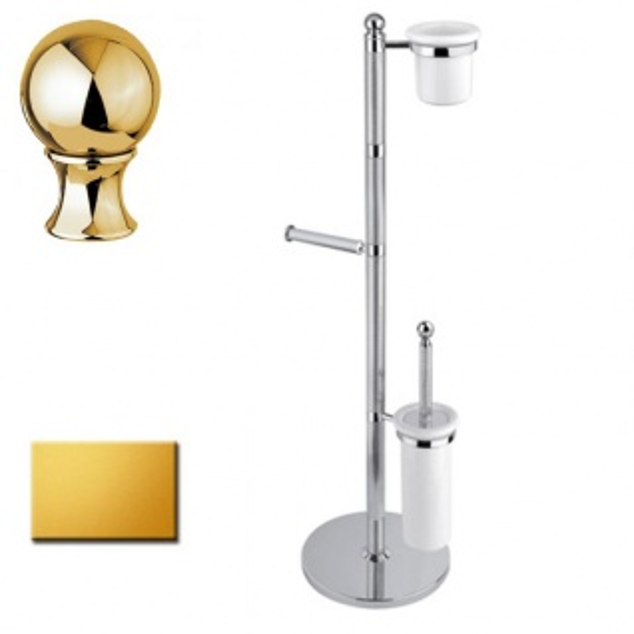 Стойка напольная Cezares Olimp WBS-03/24-M цвет золото, ручки металл