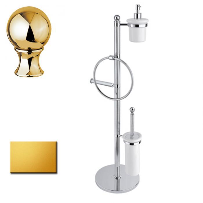 Стойка напольная Cezares Olimp WBD-03/24-M цвет золото, ручки металл