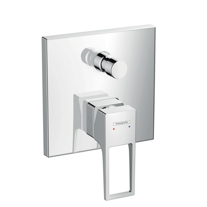 Смеситель Hansgrohe Metropol 74546000 для ванны, внешняя часть, с защитной комбинацией