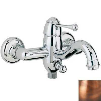 Смеситель Bandini Antico 855120JJSF для ванны/душа, медь/ручка металлическая Antico