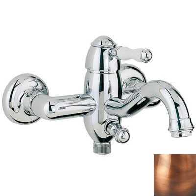 Смеситель Bandini Antico 855620JJSF для ванны/душа, медь/ручка керамическая Antico