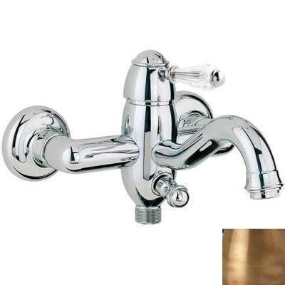 Смеситель Bandini Antico 855820YYSF для ванны/душа, бронза/ручка Swarowski Antico
