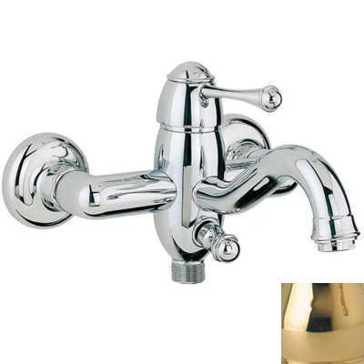 Смеситель Bandini Antico 855120KKSF для ванны/душа, золото/ручка металлическая Antico