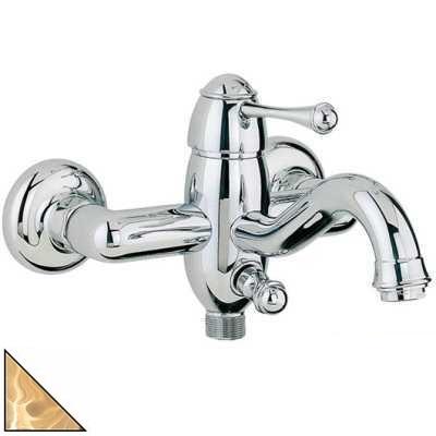 Смеситель Bandini Antico 855120ZZSF для ванны/душа, цирконий/ручка металлическая Antico