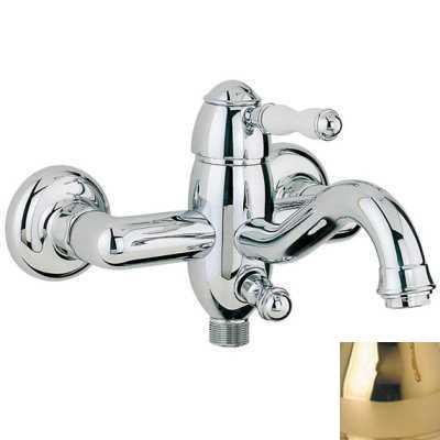 Смеситель Bandini Antico 855620KKSF для ванны/душа, золото/ручка керамическая Antico
