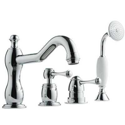 Смеситель Bandini Antico 5161400000G для ванны/душа, хром/ручка металлическая Antico