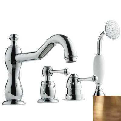 Смеситель Bandini Antico 5161400YY0G для ванны/душа, бронза/ручка металлическая Antico