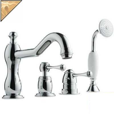 Смеситель Bandini Antico 5161400ZZ0G для ванны/душа, цирконий/ручка металлическая Antico