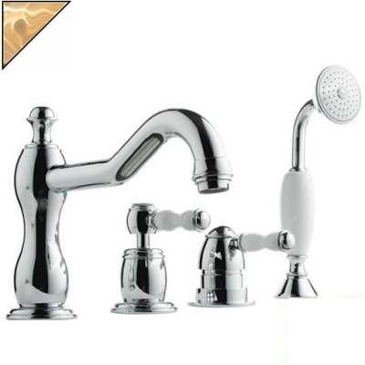 Смеситель Bandini Antico 5168400ZZ0G для ванны/душа, цирконий/ручка Swarowski Antico
