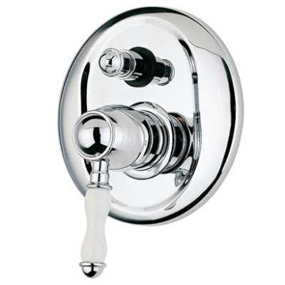 Смеситель Bandini Antico 8546200006 для ванны/душа, хром/ручка керамическая Antico