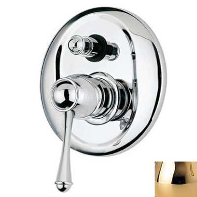 Смеситель Bandini Antico 854620KK01 для ванны/душа, золото/ручка металлическая Antico
