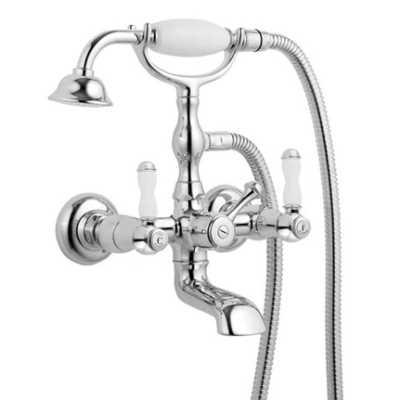 Смеситель Bandini Antica 544720PN06 для ванны/душа, никель