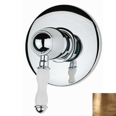Смеситель Bandini Antico арт. 854620YY00 для душа, ручка керамическая Antico, бронза
