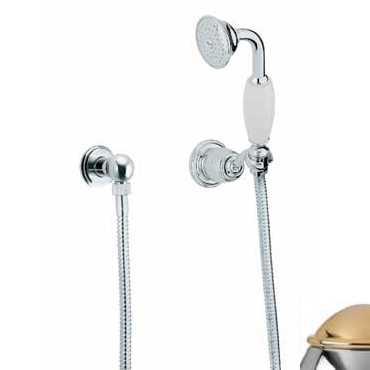 Душевой гарнитур Bandini Antico 644120KO06, хром-золото
