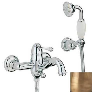Смеситель Bandini Antico 855120YY00 для ванны/душа, бронза/металлическая Antico