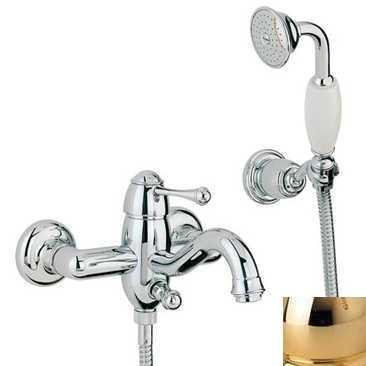 Смеситель Bandini Antico 855120KK00 для ванны/душа, золото/металлическая Antico