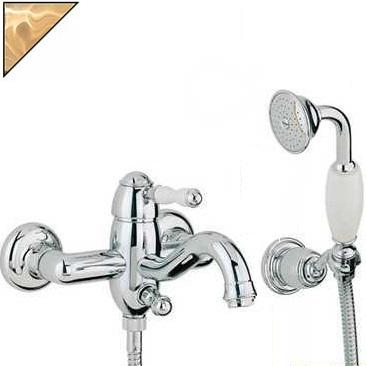 Смеситель Bandini Antico 855620ZZ00 для ванны/душа, цирконий/ручка керамическая Antico