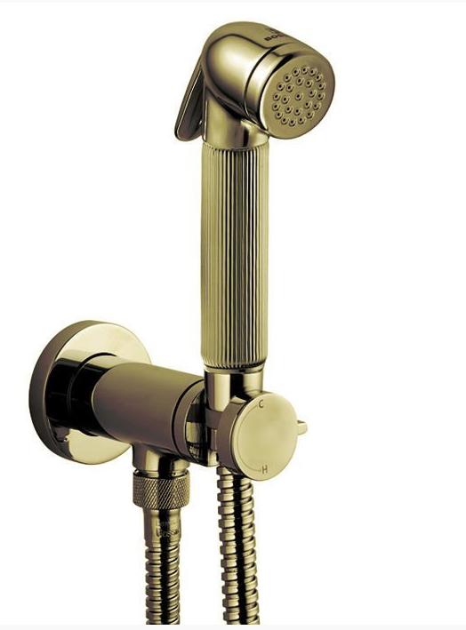 Смеситель гигиенический Bossini Nikita Mixer Set, арт. E37008.022, бронза