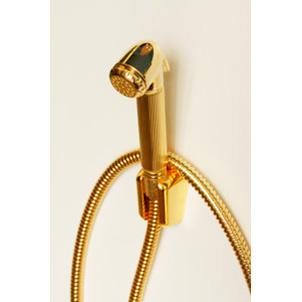 Гигиенический гарнитур Bossini Nikita C69002.021, золото, 125 см