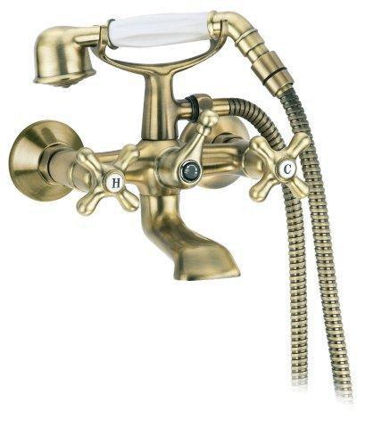 Смеситель Cezares RETRO-VD2-02 для ванны/душа, бронза
