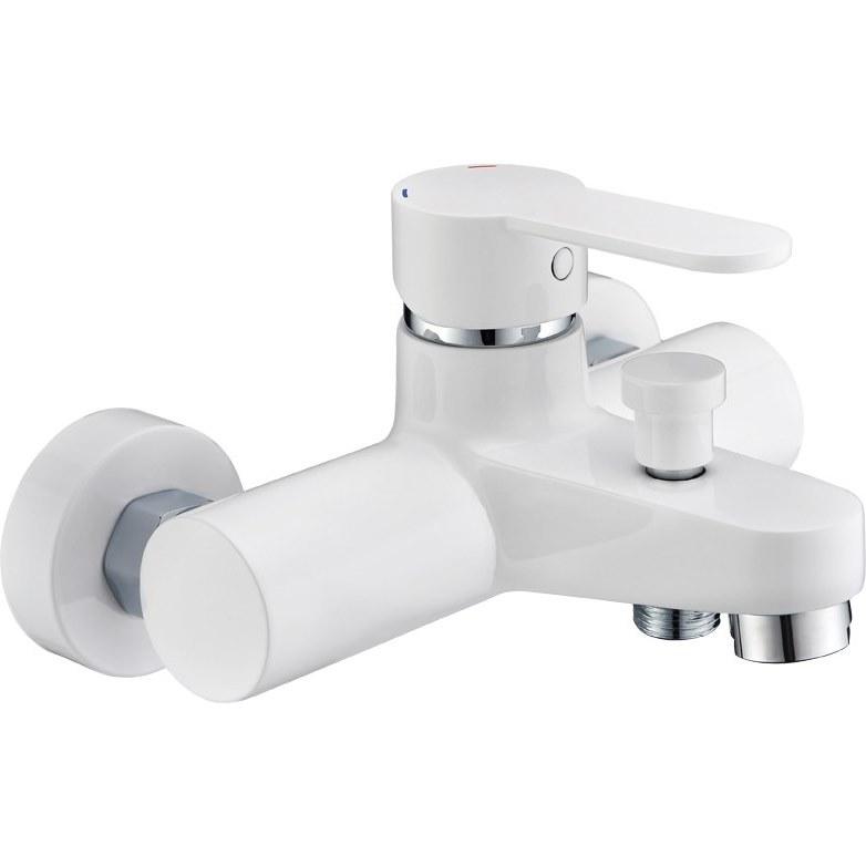 Смеситель Cezares LACONICO-C-VD-BLC для ванны/душа, белый