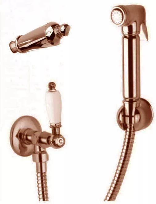 Гигиенический душ Cezares арт. FIRST-KS-02-M, бронза, ручка металл