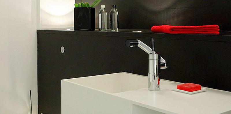 Смеситель Damixa Arc 29000 для кухни черный