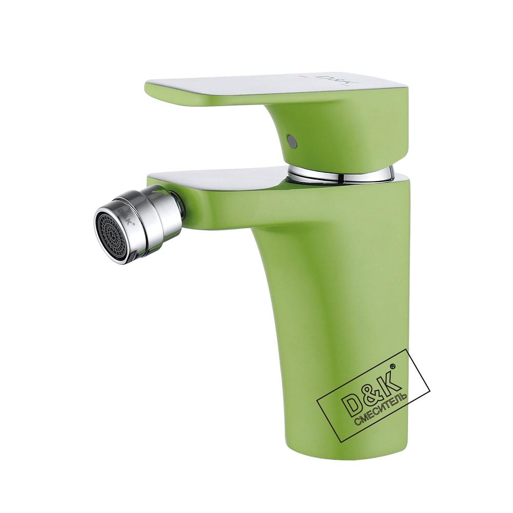 Смеситель D&K Berlin DA1432213 для биде, зеленый