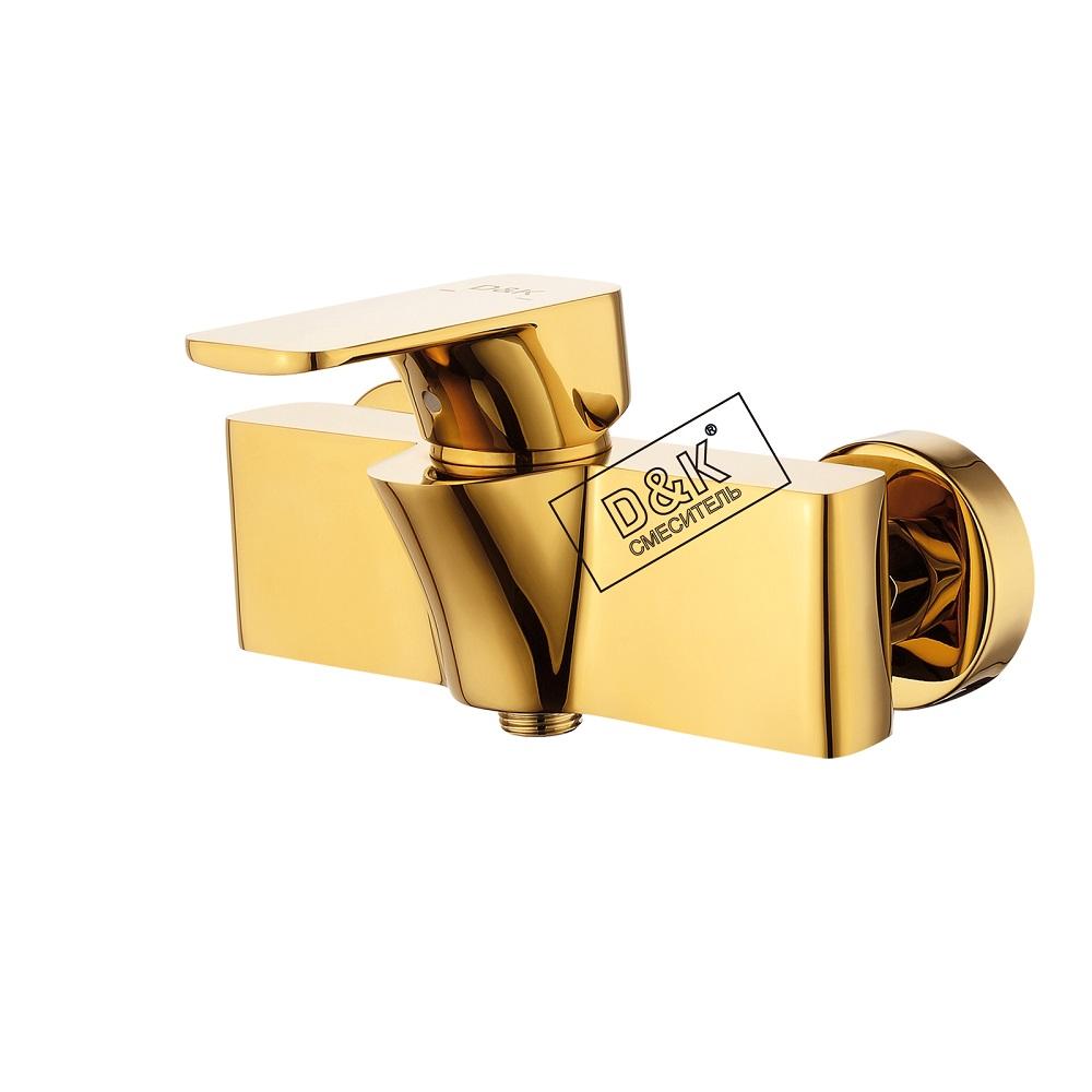 Смеситель D&K Berlin DA1433103 для душа, золото (титан)