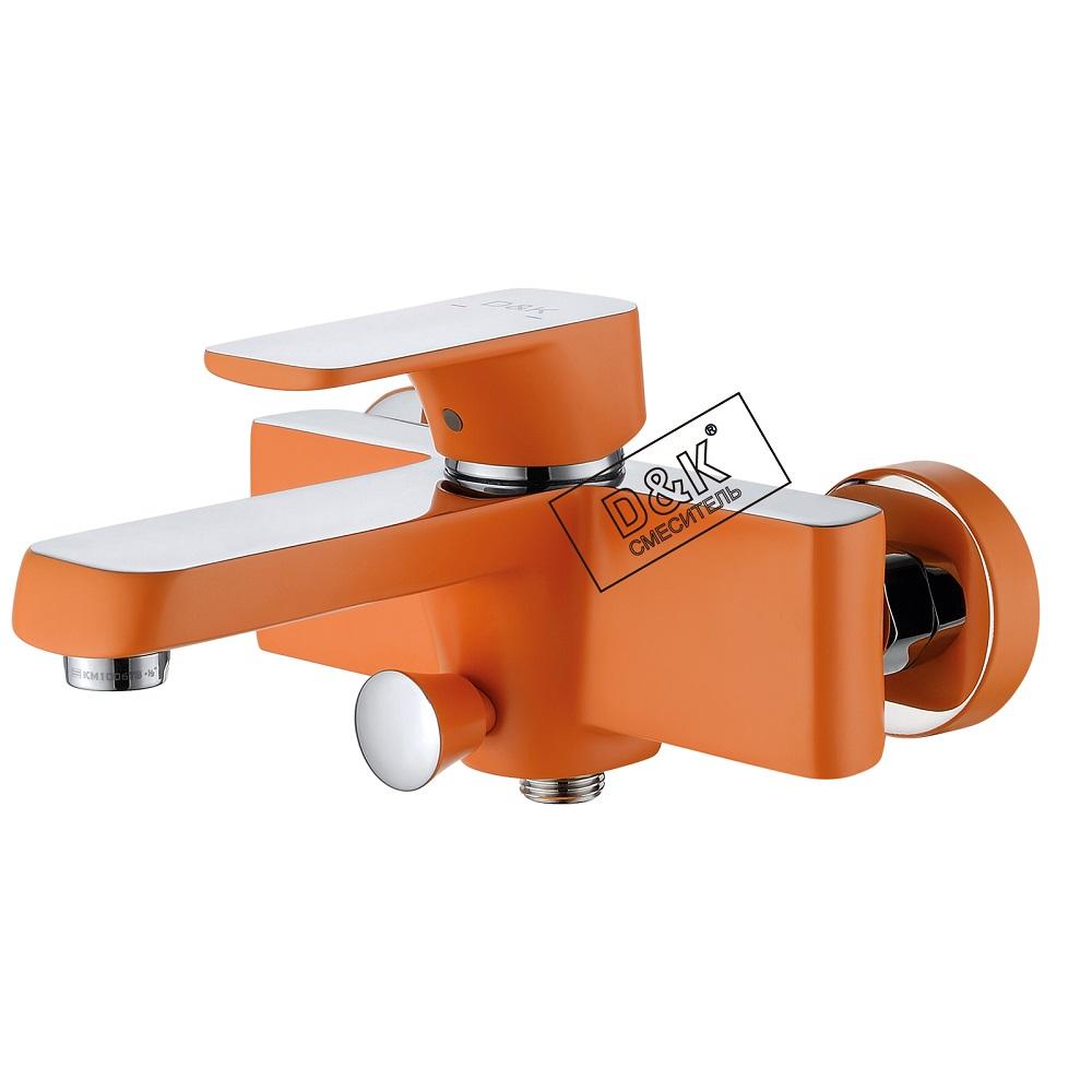 Смеситель D&K Berlin DA1433213 для ванны идуша, оранжевый
