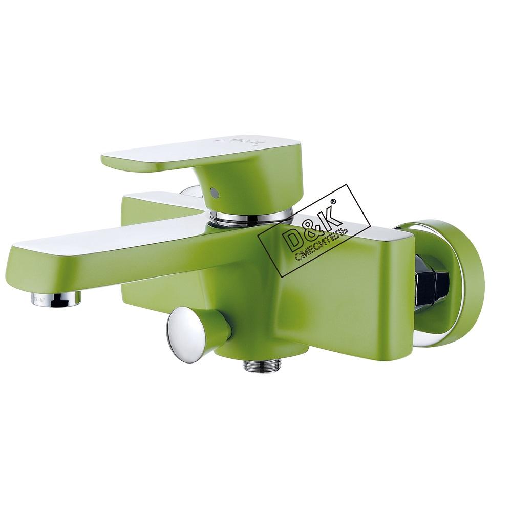 Смеситель D&K Berlin DA1433212 для ванны идуша, зеленый