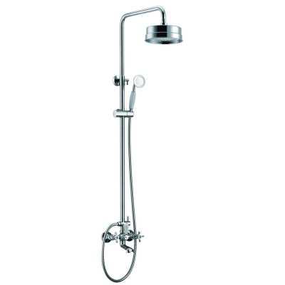 Душевая система Edelform Verde VR2910 для ванны/душа cо стойкой, хром