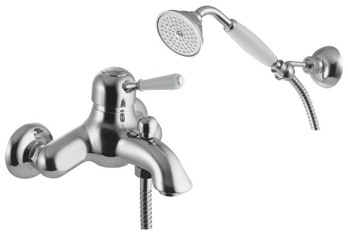 Смеситель Fima Carlo Frattini Bell F3364CR для ванны и душа, хром