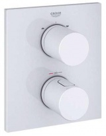 Термостат для ванны Grohe Grohtherm 3000 Cosmopolitan 19567LS0, белый