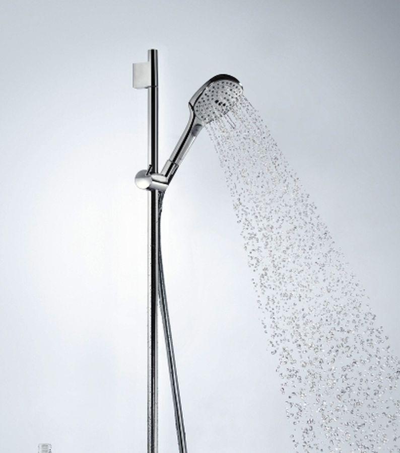 Душевой гарнитур Hansgrohe Raindance Select E120 3jet 26620400, хром/белый