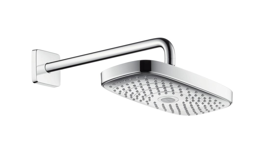 Верхний душ Hansgrohe Select E 300 2jet 27385000, хром