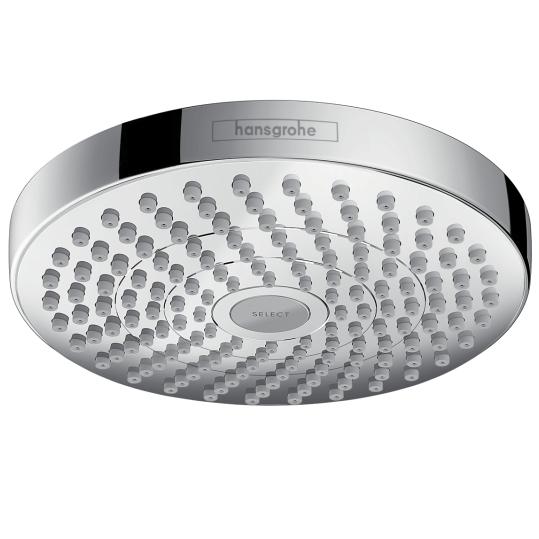 Верхний душ Hansgrohe Croma Select S 180 2 jet 26522000, цвет хром