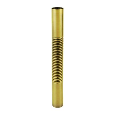 Гибкая латунная труба Margaroli 100, арт. TU0100AA04GD, золото