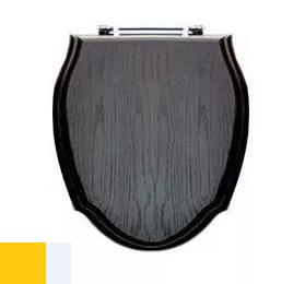 Сиденье для унитаза Devon&Devon Westminster арт. IBSEWESWENGE, массив дуба темного цвета/светлое золото